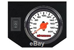 2007-18 Chevy 1500 Tow Assist Over Load Air Bag Suspension White Gauge Control