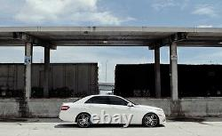 2010-16 Mercedes Benz E Adjustable Lowering Links Air Suspension Kit W212 v2