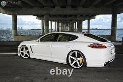 2010-16 Porsche Panamera Adjustable Lowering Links Air Suspension Kit v2