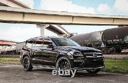 2013-18 Mercedes Benz GL Adjustable Lowering Links Air Suspension Kit X166 v2