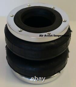 #2500 Air Bag & end plates for DIY airbag suspension load assist dump kit
