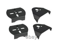 3/8 Front Rear Air Ride Suspension Bag Bracket Mount Kit For 1999-06 Chevy C15
