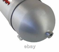 33 Seamless Aluminum Air Tank Brushed Spun 5 Gallon 7 Port Air Ride Suspension