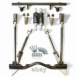 55-57 CHEVY TRI FIVE BEL AIR REAR 4 LINK KIT coilover set up rear suspension gm