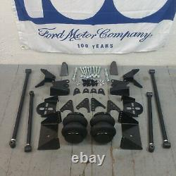 67-79 Ford Truck Triangulated Rear Suspension Four 4 Link Air Ride Kit GT 5L 390