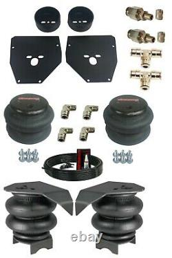 73-87 C10 3/8 Front and Rear Bolt in Air Ride Suspension Bag Brackets Mounts