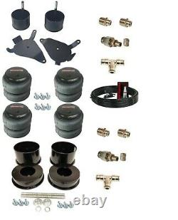 82-88 Chevy G-Body 3/8 Front Rear Air Ride Suspension Bag Bracket Mount Kit
