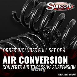 93-98 Lincoln Mark VIII Front & Rear Air Suspension to Coil Spring & Strut Kit