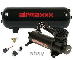 Air Compressor 480 Black 3 Gallon Air Tank Water Drain 165 On 200 Off Switch