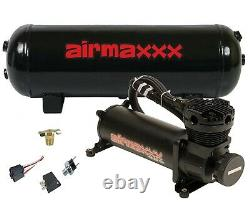 Air Compressor 480 Black Airmaxxx 3 Gallon Air Tank Drain 120 on 150 off Switch