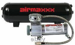 Air Compressor Pewter 400 Airmaxxx 3 Gallon Air Tank Drain 150 on 180 off Switch