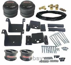 Air Helper Kit No Drill Bolt On 4 Lifted 2011-17 Chevy GMC 2500/3500 Load Level