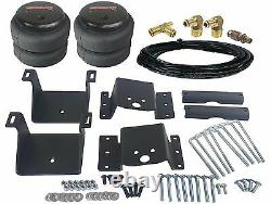 Air Helper Kit No Drill Bolt On 6 Lifted 2011-17 Chevy GMC 2500/3500 Load Level