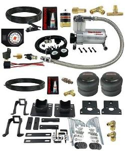 Air Helper Spring Kit In Cab White Gauge Over Load Level For 05-10 Ford F250 2wd