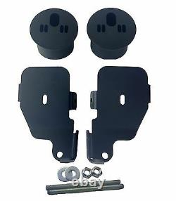 Air Ride Kit For 1965-70 Impala Valves 7 Switch 580 Black Air Compressors & Tank