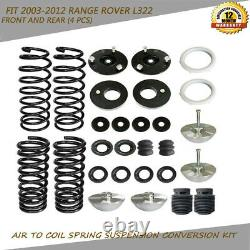 Air Suspension Bag to Coil Spring Conversion Kit Fit 2003-2012 Range Rover L322
