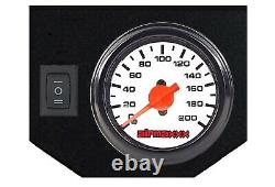 Air Tow Assist Kit Tank & White Gauge Controls In Cab For 2014-20 Dodge Ram 2500