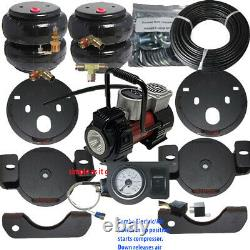 Air Tow Assist Load Level 2001 2010 Chevy 2500 3500 -Compressor-Gauge-Relay