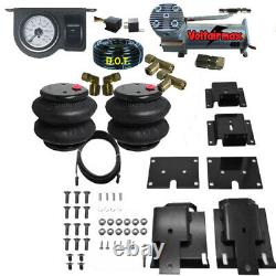 Air Tow Assist Load Level Kit 2009-2017 Dodge 1500 withAir management No Drill