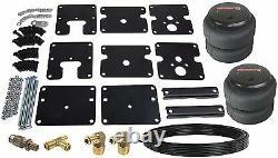 Air Tow Assist No Drill Rear Air Bag Kit Bolt On Fits 99-06 Chevy Silverado 1500