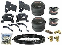 Air Tow Assist Over Load Kit No Drill For 01-10 Chevy 2500 PU Already Lifted 4