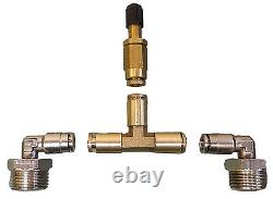 Air bag helper springs kit with4 ply airbags no drill for 05-10 ford f250 f350 4x4