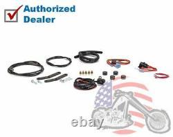 Black Arnott Ultimate Rebound Air Ride Suspension Shocks Kit Harley V-Rod 07-17