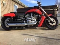 Dirty Air Black Rear Aluminum Air Ride Shocks Suspension Kit Pair Harley V-Rod