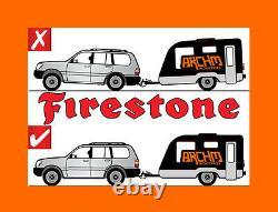 Firestone Air Bag Suspension Assist Kit For Ford Ba/bf/fg Falcon Ute Std 1tonne