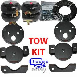Fits 2001-10 Chevy 2500HD Towing Assist Over Load Air Bag Suspension Kit