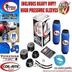 Landcruiser 200 Series 2 Lifted HP Firestone Coil Air Bag Suspension Spring Kit