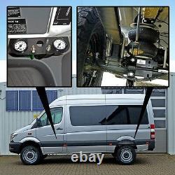 Luftfederung f. MB Sprinter Basis-Kit-Plus ALLRAD 4x4 W906 ab 2006 Hinterachse