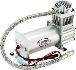 Onboard Universal Air Compressor 150PSI. 4 Car/Truck Train Horn/Suspension Kit