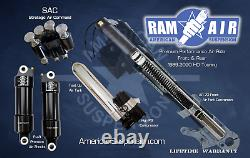 P-49 American Suspension Air Ride Front & Rear Shocks Kit Hd Touring Complete