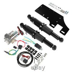 Rear Air Ride Suspension Kit Fit For Harley Touring Road King Glide 1994-2021