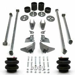 Rear Four 4-Link Air Ride Bag Suspension Kit for 47-59 Chevy Truck