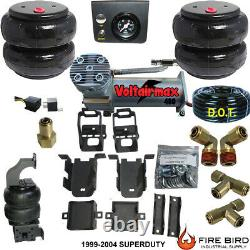 Rear axle Level Air Tow Assist 1999-04 Ford F350 Pickup overload air manage