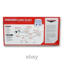 Right Weigh 202-DDG-02RKC Interior Digital Load Scale Kit For Two HCV Air Susp