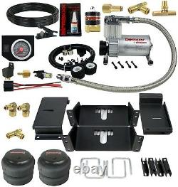 Towing Air Bag Suspension Kit With In Cab Control 1980-1997 Ford F350 4wd Truck