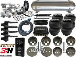 Universal Air Suspension Kit Coil Spring Vehicles LEVEL 4 with Air Lift 3H