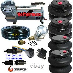 V 480C Air Compressor Ride 200psi rate all pictured 2500/2600 Airspring bags