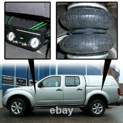 Zusatz Luftfederung für Nissan Navara D40 D401 ab 2004 Hinten Basis-Kit Plus