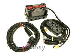 3/8 Airmaxxx Complete Air Ride Management System 480 Chrome Compresseur 5 Gal