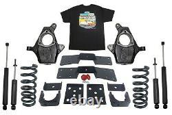 4 Kit De Chute De Suspension Arrière Avant 6 Pour 1999-06 Chevy Gmc 1500 V8 Seulement