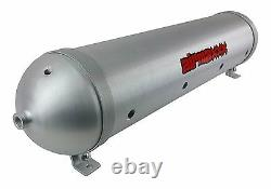 5 Gallons Réservoir D'air En Aluminium 33 Sans Soudure Spun Brossé 9 Port Suspension Air Ride