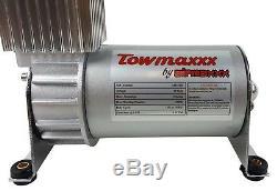 Aide Air Spring Kit Airmaxxx Boulonnée Pour 2001-2010 Chevy Truck 2500 Niveau De Charge