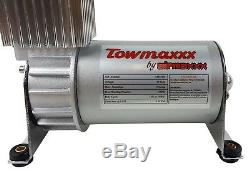 Aide Air Spring Kit Bolt En 2010 Chevy Gmc 2001 2500 Charge De Niveau Gauge Blanc