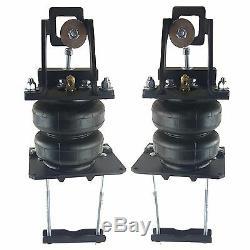 Aide Air Spring Kit Bolt On Over Niveau De Charge Wht Gauge Pour 05-10 Ford F250 4x4