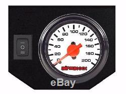 Air Assist Kit De Remorquage Gauge Blanc Gestion Et Réservoir Pour 2003-13 Dodge Ram 2500/3500