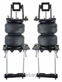 Air Bag Helper Ressorts Kit Avec 4 Airbags Ply Pas De Perceuse Pour 05-10 Ford F250 F350 4x4